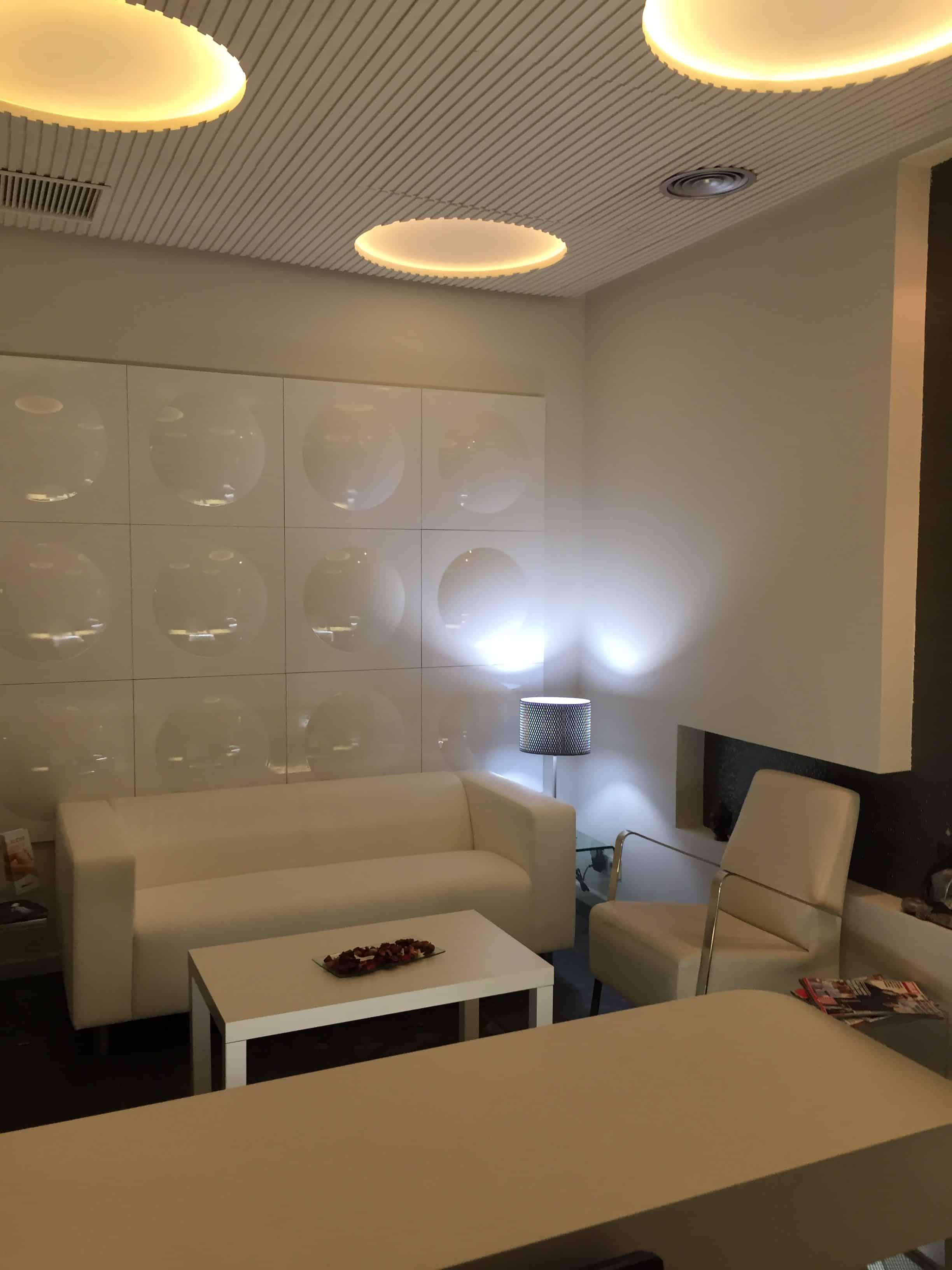Sala de espera Aravaca Medicina Estética