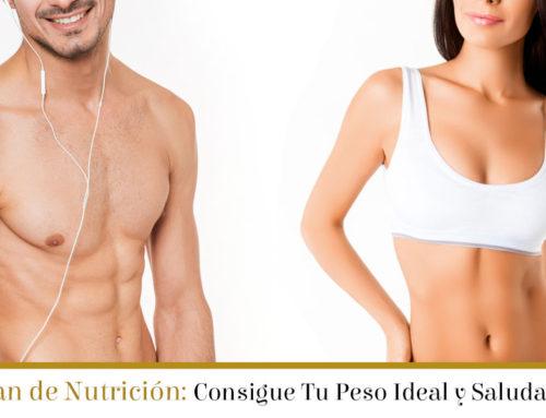 Plan para conseguir tu peso ideal y saludable