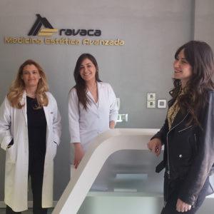 Laura Opazo visita nuestro centro de Medicina Estética en Aravaca