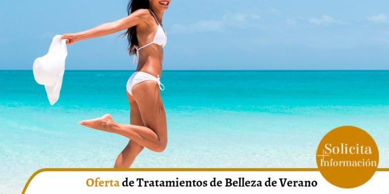 promoción de tratamientos de belleza para el verano