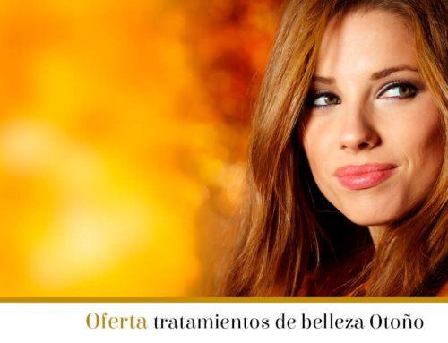 Promoción de tratamientos de belleza para el otoño
