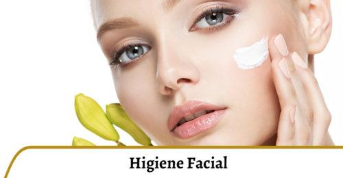 higiene y nutrición facial