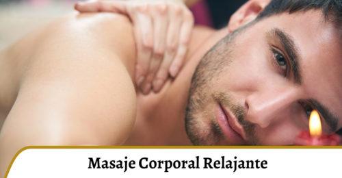 masaje corporal relajante