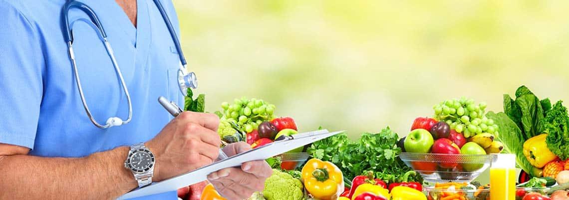 control nutricional médico